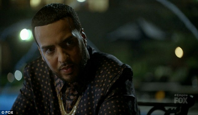 Special guest: French Montana made a guest appearance on the show