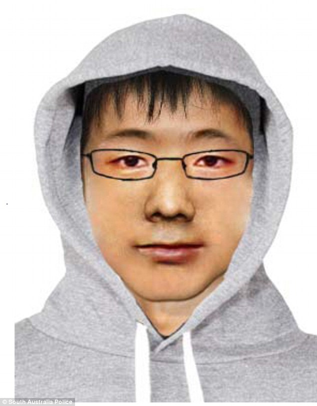 Police have released this identikit image of a man accused of harassing school girls in Adelaide