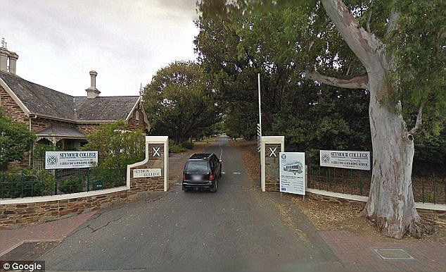Private girls' school, Seymour College (pictured) is on high alert after a skinny, Asian man stalked two of their students