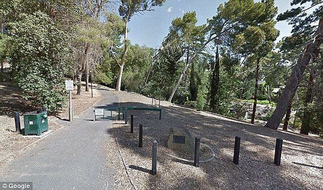 A man is alleged to have harassed two women at Michael Perry Botanic Reserve in Stonyfell (pictured)