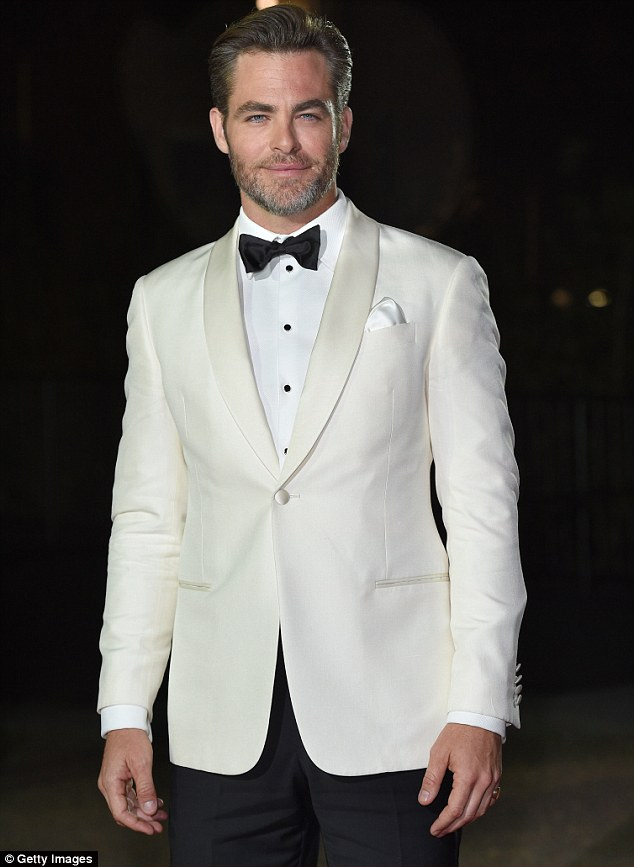 He's a smooth operator: Chris recently made a triumphant appearance at the GQ Man of The Year Awards in London - where he nabbed International Man of They Year