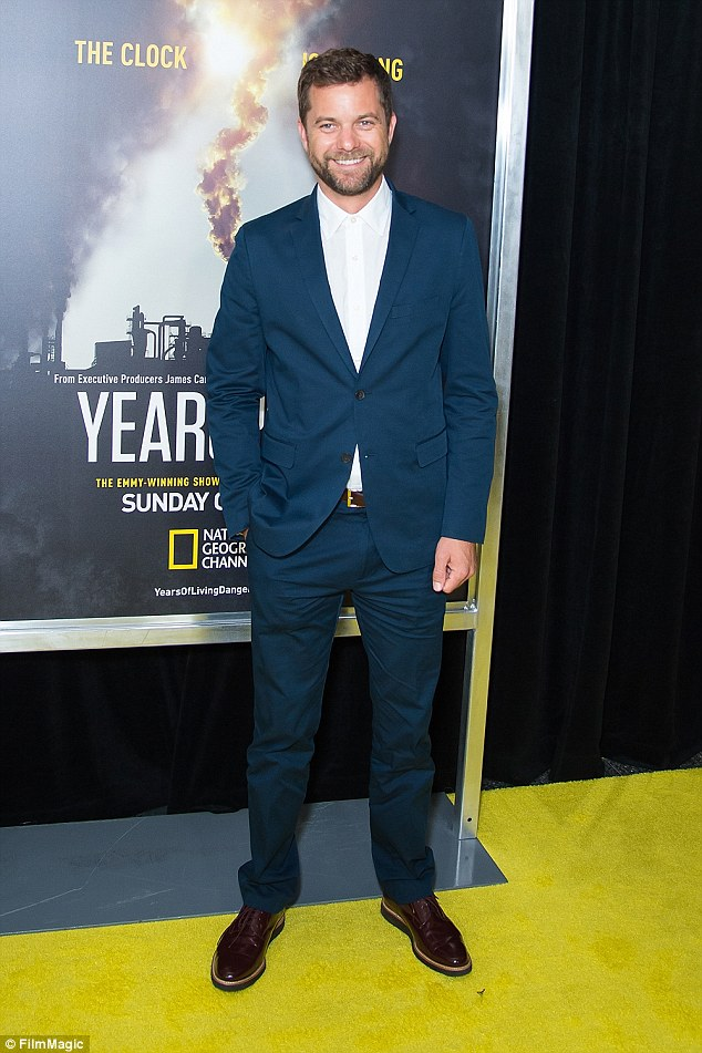 His ears are burning: Kruger's ex Joshua Jackson was spotted across town atNational Geographic's 'Years Of Living Dangerously' premiere