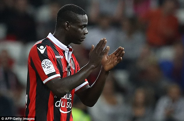 The former Manchester City forward has scored four goals in two league matches for Nice