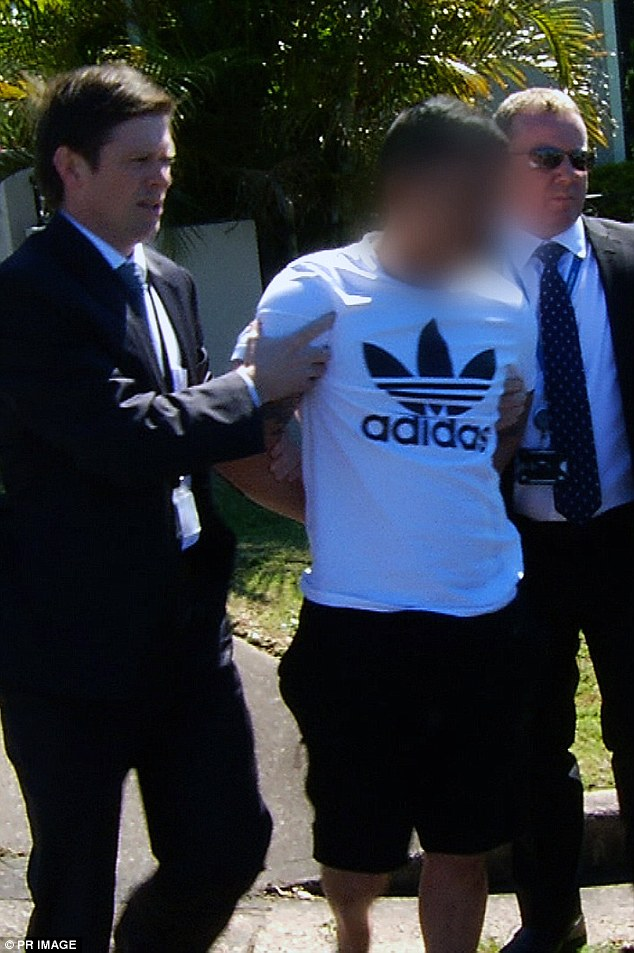 Mr Kevin Ly arrested and charged for the double murder at Merrylands on Monday