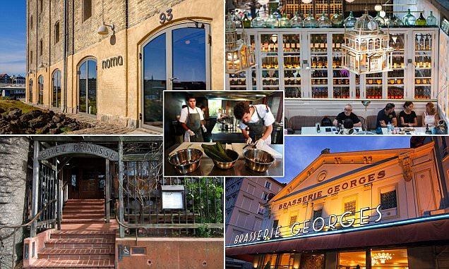 Condé Nast Traveler reveals hottest restaurants in the world