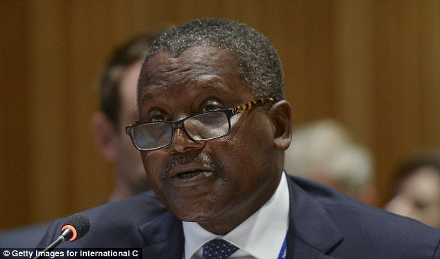 Aliko Dangote has once again expressed his desire to buy Arsenal 'within three to four years'