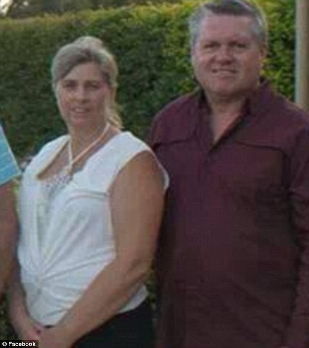 Julene Thorburn (left), 53, picked the 12-year-old up and took her home, where police allege she was killed by her foster father Rick Thorburn (right), 56, six days later