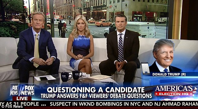 Donald Trump called into 'Fox & Friends' this morning and doubled down on his support for the controversial policing policy, stop-and-frisk