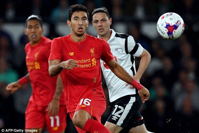 The Serbian international moved to Liverpool from Red Star Belgrade in January