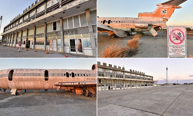 Frozen in time: Fascinating 360-degree tour of the eerie Cypriot airport that was
