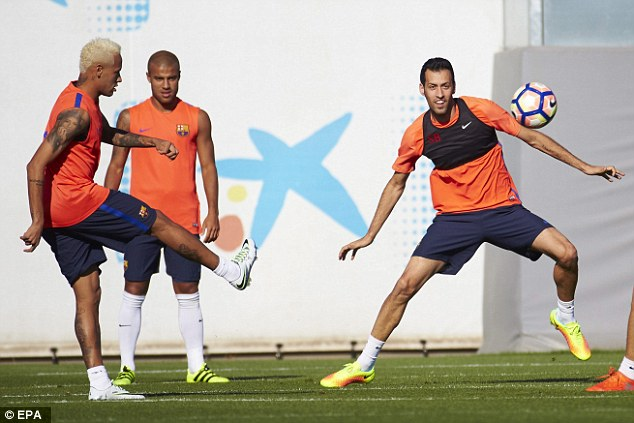 According to reports in Spain, Busquets is now in the third tier of Barca's wage structure