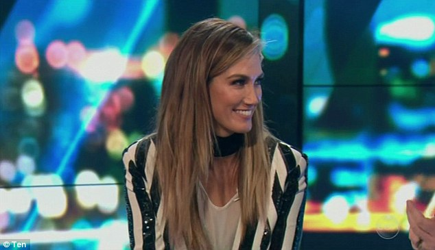 'Trashin' hotel rooms!' Delta Goodrem has opened up about life on the road during an interview on The Project on Thursday