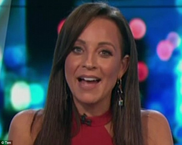 Hidden talents? The Project co-host Carrie Bickmore revealed she's always wanted to be a back-up dancer