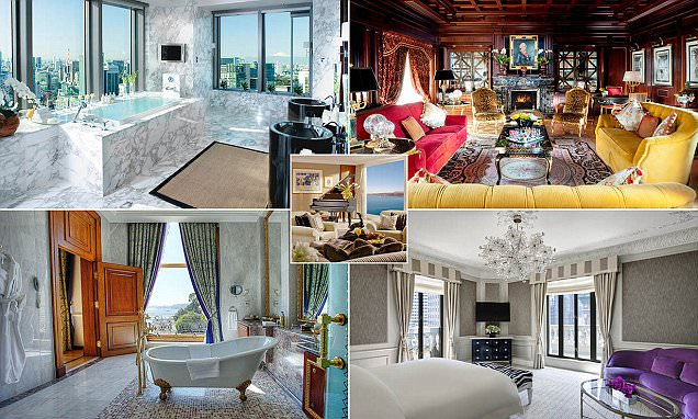 Butlers, gyms and bodyguards (and costing up to £62,000 A NIGHT): The best presidential
