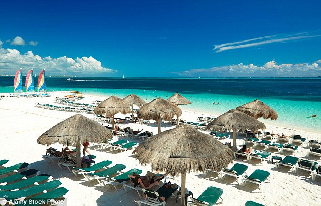 New analysis on popular getaway destinations over the past 20 years has shown a dramatic shift across the board - with Mexico (pictured) seeing a huge boost since 2010