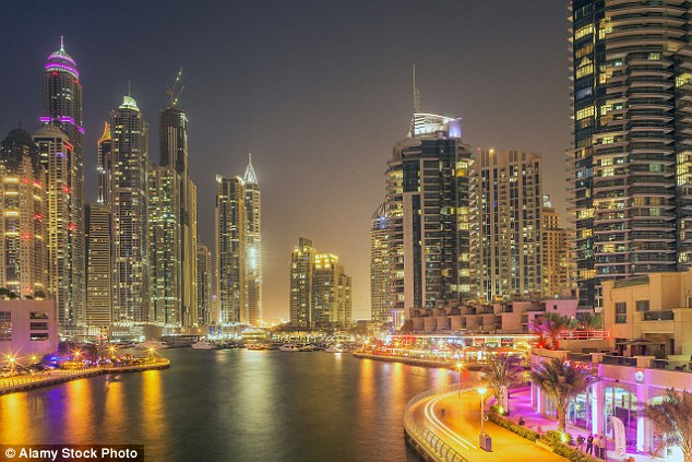 The Global Financial Crisis of 2008 saw numbers topple across the board - all except for the UAE (Dubai pictured) which saw an immediate boost in the number of British visitors
