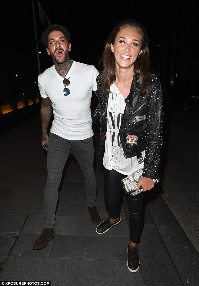 'I take my hats off to them, because I know how tough it is': Talking about the struggles of being a couple on TOWIE, Georgia commended her co-stars Pete Wicks and Megan Mckenna