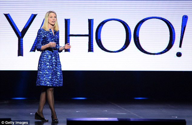 Yahoo has confirmed that hackers have taken the details of at least 500 million users in a  'state-sponsored attack' (Pictured is Yahoo President and CEO Marissa Mayer in 2014)