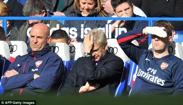 Wenger was humiliated when Mourinho's Chelsea beat them 6-0 at Stamford Bridge in 2014