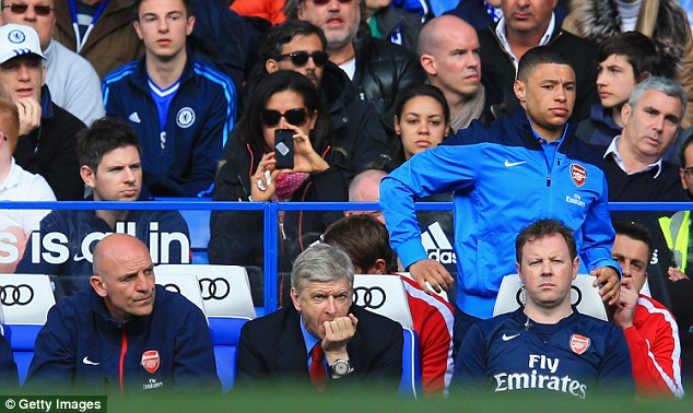The thumping defeat came on the day when Wenger was celebrating 1,000 games in charge