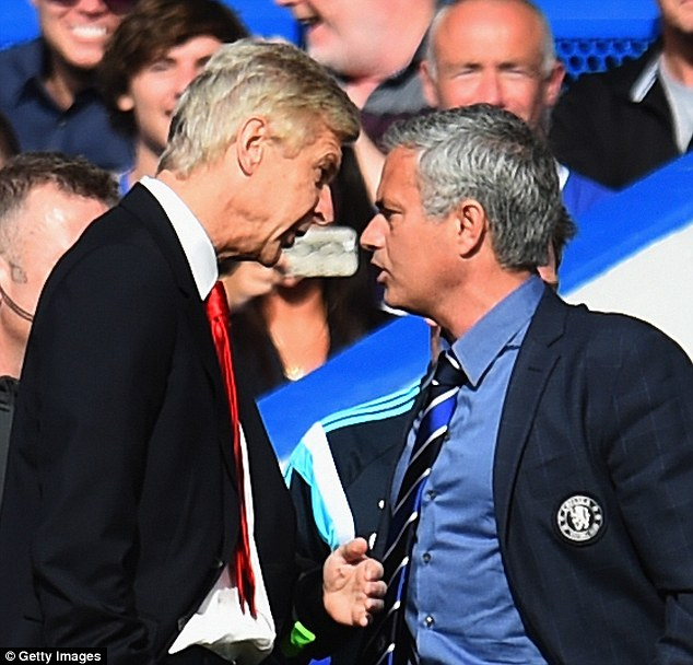 But the war of words between the two became physical in October 2014 at the Bridge