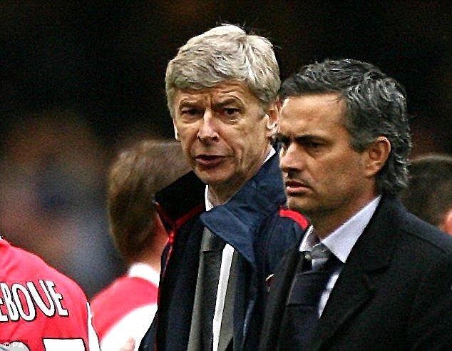 Their rivalry is one which has been brewing since Mourinho arrived in English football in 2004