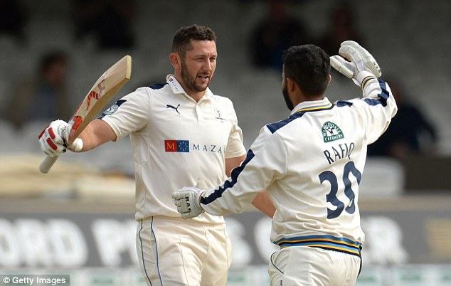 Yorkshire's Tim Bresnan (left) was in inspired form to produce a fine innings at Lords