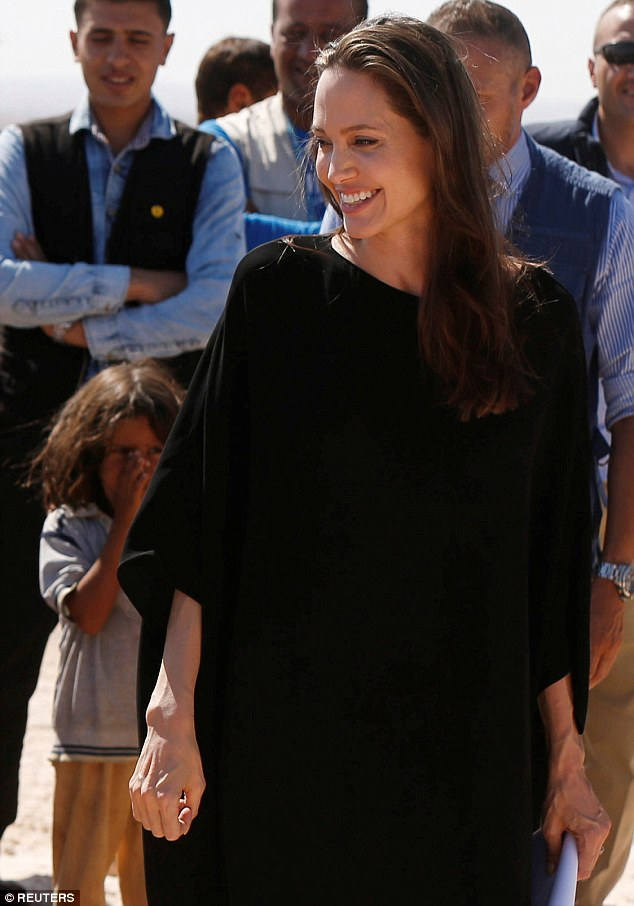She takes it all seriously: In her divorce filing, Angelina asked for physical custody of the six children with Brad only allowed visitation; it was later stated he for now is not allowed to visit the kids