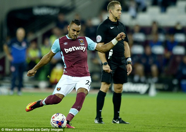 Dimitri Payet scored added another stunning free-kick to his collection on Wednesday