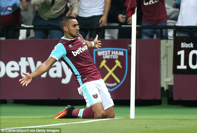 Only Willian and Lionel Messi have scored more free-kicks than Payet has at West Ham