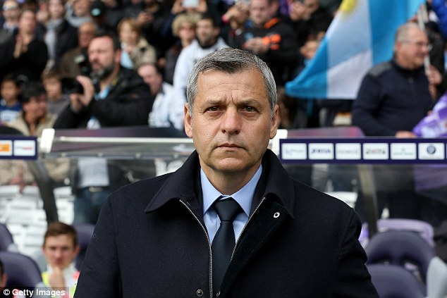 The reports even had 'quotes' from Lyon manager Bruno Genesio within it