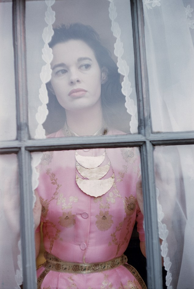 The shots feature everything from pedestrians window-shopping on Fifth Avenue to intimate sessions with Audrey Hepburn and Gloria Vanderbilt (pictured)