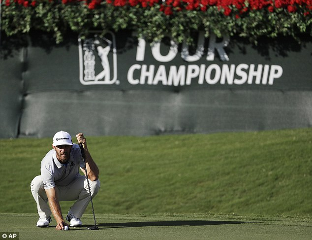 DustinJohnson put himself in pole position to claim the bonus with one of three rounds of 66