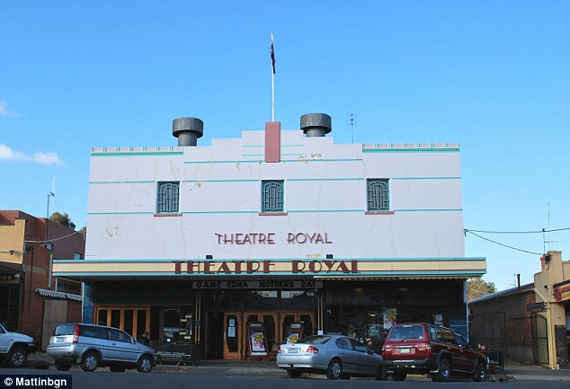 The documentary was to be screened at Castlemaine's historic Theatre Royal