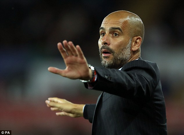 The full back says Guardiola wants more control from his defensive players