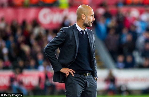 Pep Guardiola is still not completely satisfied by Manchester City's defending