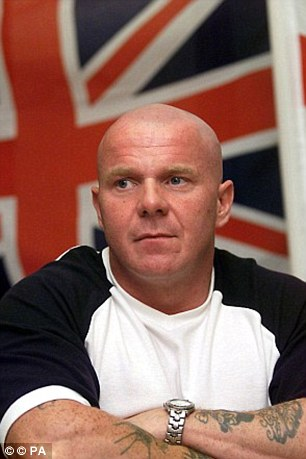 Adair Jnr is the son of former Loyalist terror chief Johnny 'Mad Dog' Adair, pictured