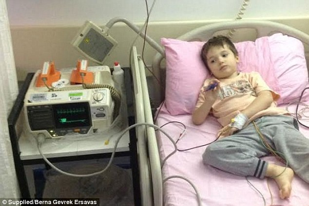 Doctors were unable to explain why, but Alan's immune system was attacking his red blood cells, slowly making him more and more weak