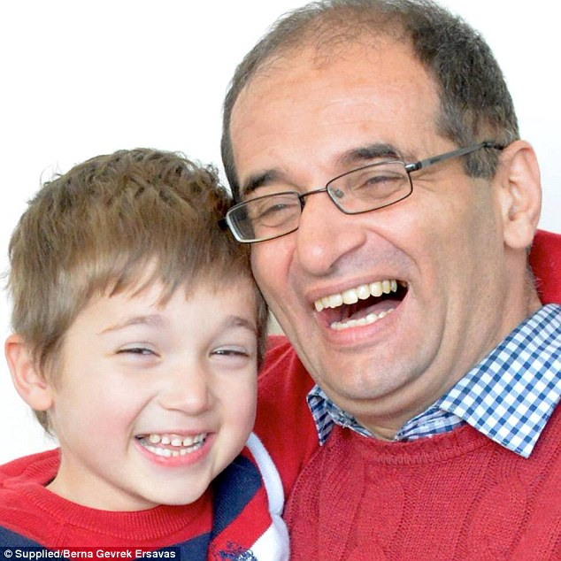 His father Tansel said his son was just three-years-old when they knew something was wrong