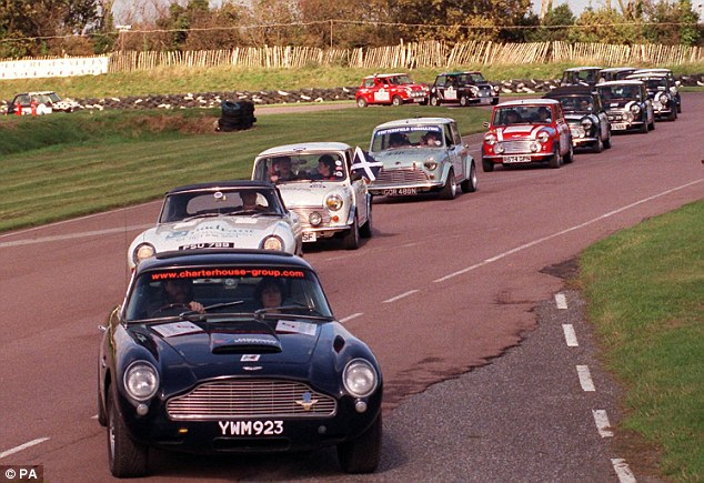 All vehicles manufactured before 1977 from Minis to older Jaguars (pictured) are considered as collectors items and the government believe people maintain them more than they drive them