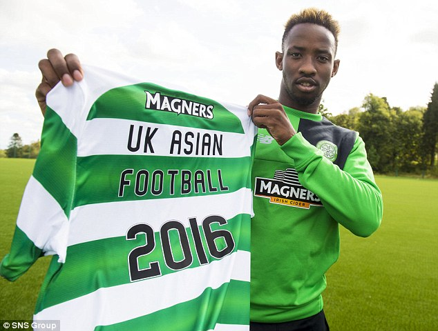 Moussa Dembele, who has been in great form for Celtic, scored a hat-trick against Rangers