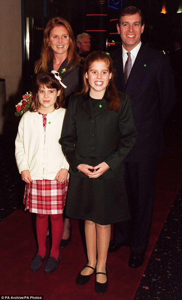 The family in 1999. Fergie said her daughters inspired her to get back out into the world