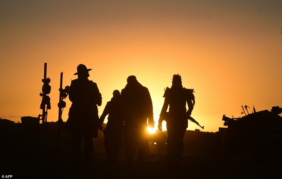 Festival goers arrive for the first day of Wasteland Weekend in the Mojave Desert, California, the world's largest post-apocalyptic festival