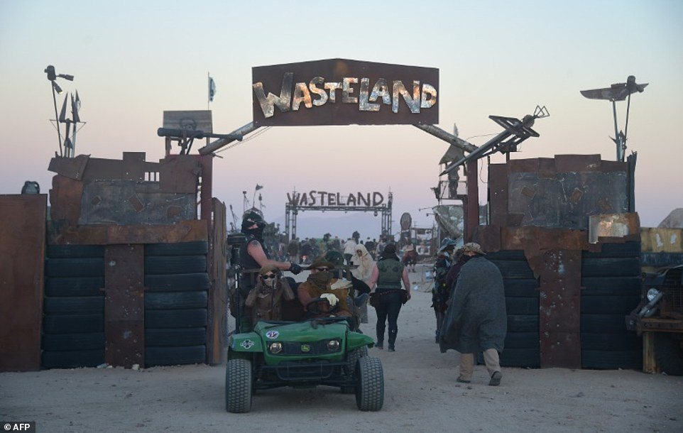 Wasteland Weekend in the Mojave Desert is a sort of Comic-Con but for fans of 'Mad Max' and the 'Fallout' console games, who aren't too fussy about pristine restrooms