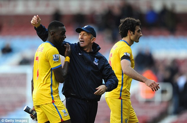 Pulis saved Palace from relegation in 2013-14 using his widely recognised style of football