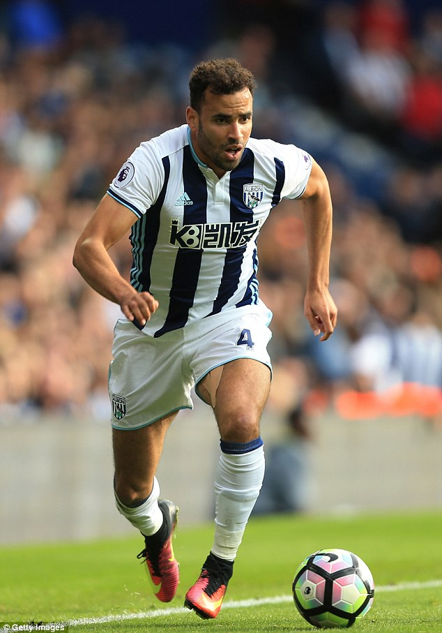 Hal Robson-Kanu made his West Brom debut as a substitute in their 4-2 win over West Ham