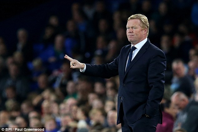 Everton manager Ronald Koeman has told Niasse he is free to leave the club