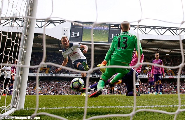 Kane scored the winner for Spurs in their 1-0 Premier League victory over the Black Cats
