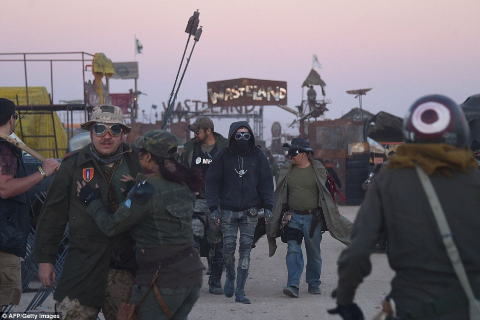 Over a thousand attendees come from all over the the United States (and beyond) to gather in the Southern California desert for the four-day post-apocalyptic festival