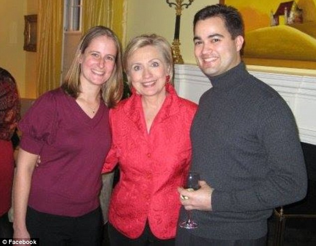 Served: Congress twice subpoenaed Bryan Pagliano, who set up Hillary Clinton's secret server. He was close to the Clintons and posed with his wife, Carrie, and the now Democratic candidate